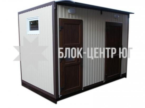 Стационарный туалетный Модуль МК-2