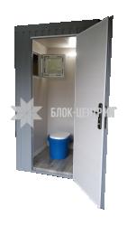 Біотуалет кабіна підвищеного комфорту стаціонарна Комфорт ТПК-3