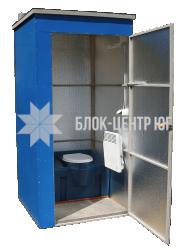 Биотуалет кабина разборная утепленная зима-лето. Идеал ТК-1