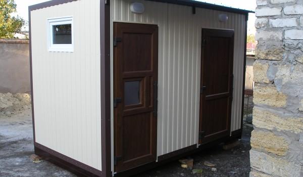 Характеристика туалетних вуличних кабін біотуалетів