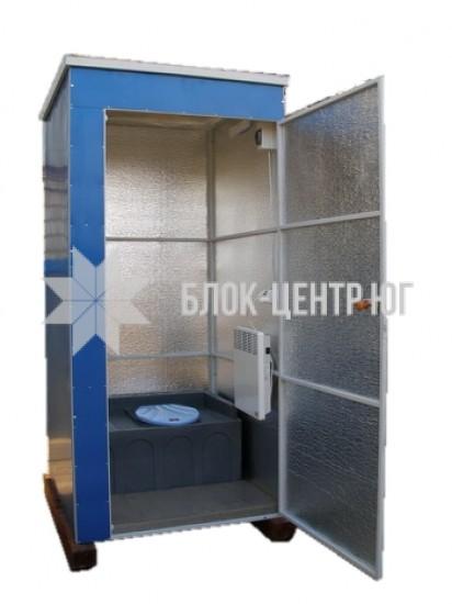 Біотуалет кабіна розбірна утеплена зима-літо. Ідеал ТК-1
