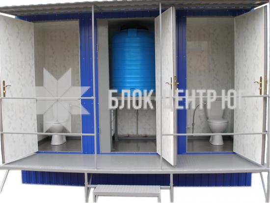Автономний санітарний модуль павільйон МК-4