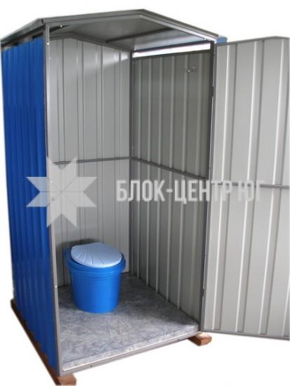 Биотуалет кабина для лета на выгребную яму Сезон ЛК-3