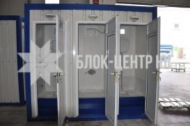 Туалетный санитарный модуль павильон МК-5