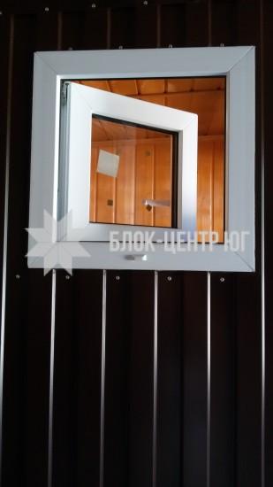 Пластикове вікно для кабін Комфорт ТПК