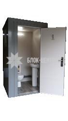Біотуалет кабіна підвищеного комфорту стаціонарна Комфорт ТПК-2