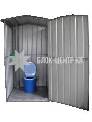 Біотуалет кабіна для літа на вигрібну яму Сезон ЛК-3
