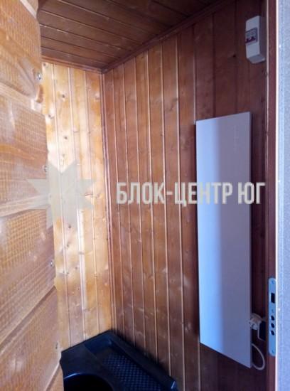 Биотуалет кабина повышенного комфорта Комфорт ТПК-1.