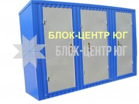 Туалетный санитарный модуль павильон МК-1