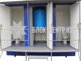 Туалетный санитарный модуль павильон МК-4