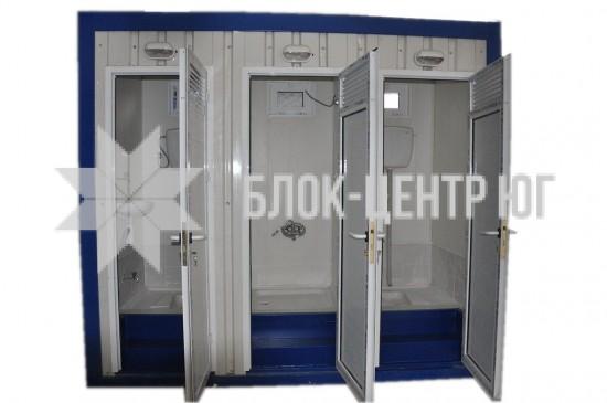 Санитарный блок-модуль с душевой МК-5