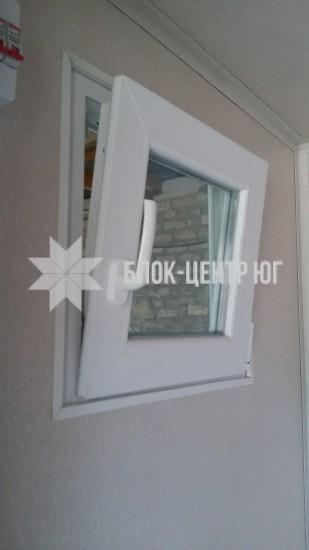 Пластиковое окно 500ммх500мм