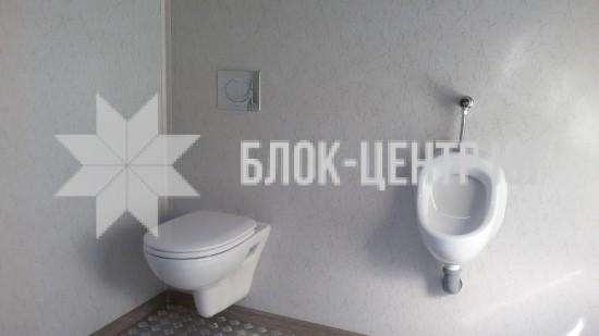 Туалетный санитарный модуль павильон МК-2