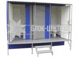 Туалетный санитарный модуль павильон МК-3