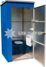 Біотуалет кабіни з накопичувальним баком