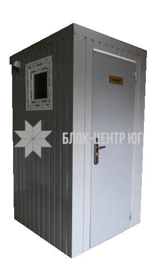 Биотуалет кабина повышенного комфорта на яму Комфорт ТПК-3