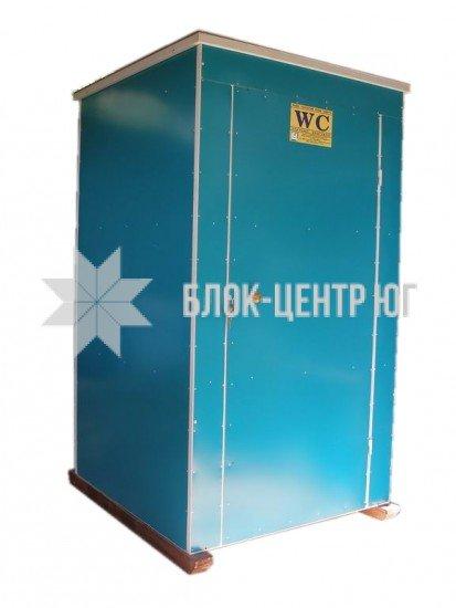 Биотуалет кабина разборная стационарная зима-лето Идеал ТК-2