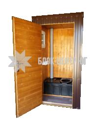 Биотуалет кабина повышенного комфорта Комфорт ТПК-1 утепленная