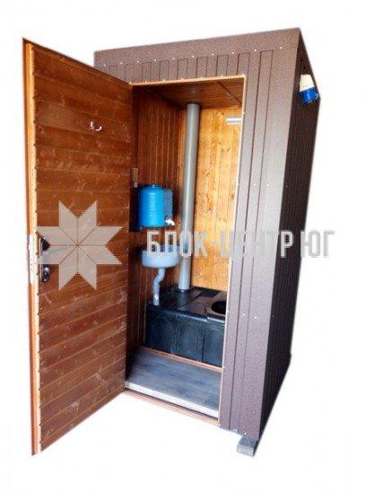 Біотуалет кабіна підвищеного комфорту. Комфорт ТПК-1