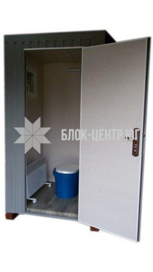 Біотуалет кабіна підвищеного комфорту на яму Комфорт ТПК-3