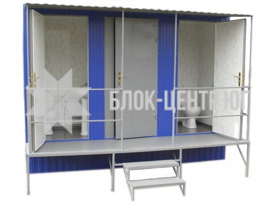Туалетний санітарний модуль павільйон МК-3